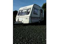 Two berth caravan
