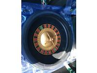 "16"" roulette wheel only hence £6 good for party"