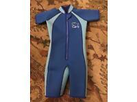 Child's neoprene wetsuit, Jojo Maman Bebe, 4-5 years
