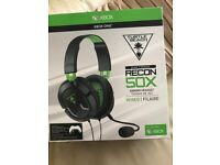 Brand New Xbox One Turtle Beach Ear Force Recon 50X Gaming Headset