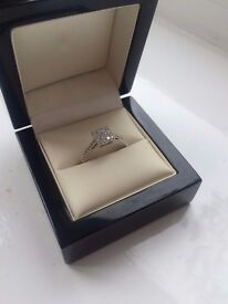 Elegant 0.5 Carat Diamond Ring