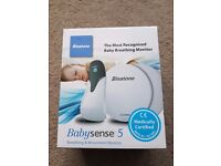 BRAND NEW Binatone Babysense 5 baby breathing monitor