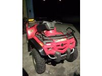 BREAKING FOR PARTS SPARES Bombardier Can Am Outlander 400 4x4 quad bike