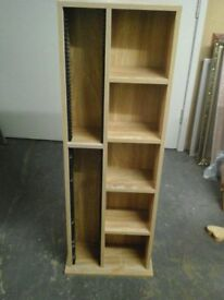 Lovely combined Media holder and bookcase cabinet