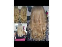 Hair extension supply fitting training micro rings tape weave prebonded nano mini tips