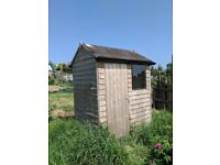 Wooden garden shed very good condition