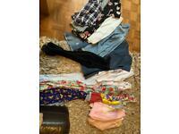 Age 9-10 years girls clothing bundle