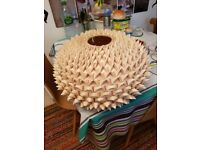 Wicker Light shade.