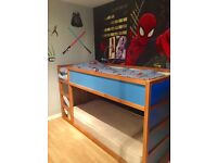 Bunk bed in great condition with 1 or 2 orthopaedic mattresses