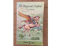 Rare vintage C.S Lewis the Magicians Nephew book.