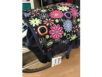 Classic double panniers cycle bag
