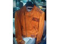 Leather Jacket Just Cavalli