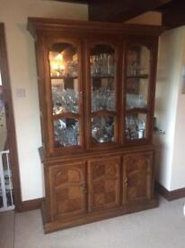Cabinet with Glass top