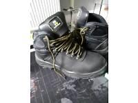 Steel toe caps size 8