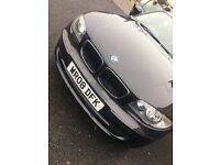 BMW 1 SERIES. 2.0 Diesel. Black. 08 plate