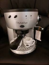 Breville Barista Espresso Machine Black and Silver - Brand new