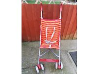 Redkite Pushchair for sale