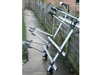 Exodus Roof Mount Cycle Carrier x 3