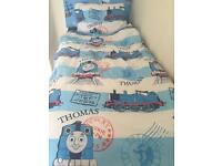 Thomas The Tank single bedding & curtains