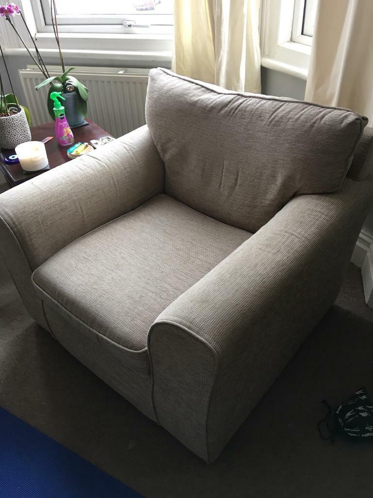 Single Sofa Armchair In Beige