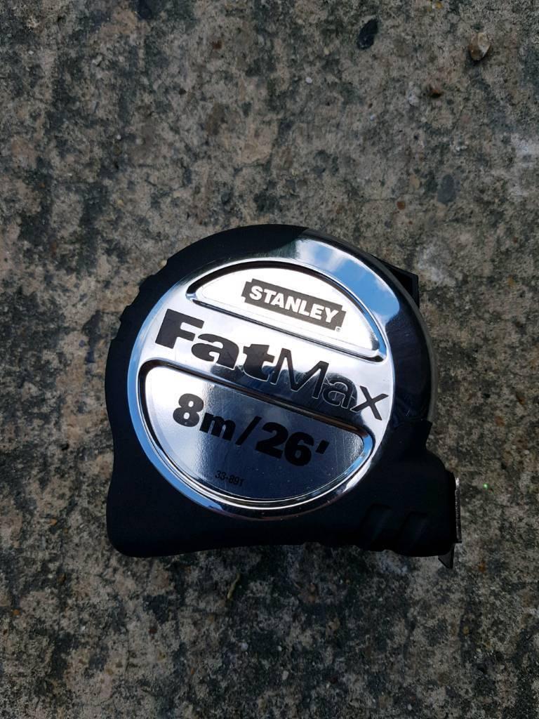 Stanley FatMax 8m measure tape