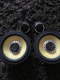 Vibe blackair 5.25 inch speakers - 270 watts