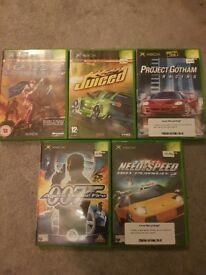 Pre-owned Xbox 5 game bundle joblot