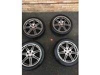 Honda Civic Type r wheels (alloys & tyres)
