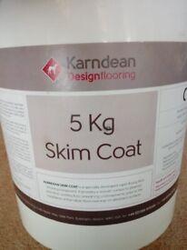 Karndean Skim Coat - Leftover material (half remain)