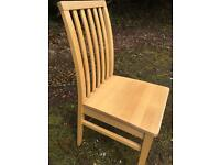 Solid wood beautiful dining kitchen chairs
