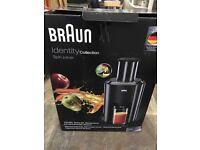 Braun juicer nearly new