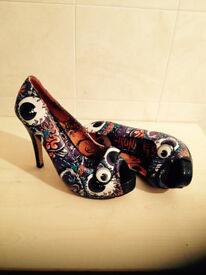 Iron Fist Heels Monster collection Shoes size 5uk New