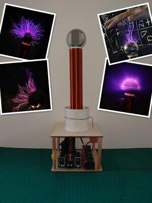 Music Tesla Coil Spark Gap Arc Test Wireless Electricity Transmission Diy Kits