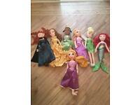 Disney shop plush dolls