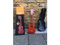 Stagg Ukulele + Box and Carry Bag