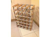 24 bottle sturdy wine rack