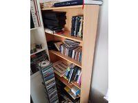 Birch effect tall bookshelf