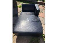 Leather corner sofa ***FREE***