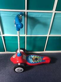 Paw patrol musical scooter
