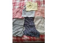Womens size 10/12 tops and shorts bundle