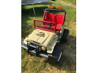 Spares/repairs ride on jeep SSTC
