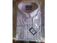 5 'Size Large' Charles Tyrwhitt NON IRON Business Casual Gents Shirts - New Packaged/Unopened