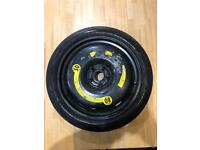 Seat Leon FR Space Saver Rim With Continental Tyre 125/70/18