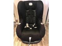 Britax Eclipse car seat Black Thunder Group 1 Weight 9-18kg