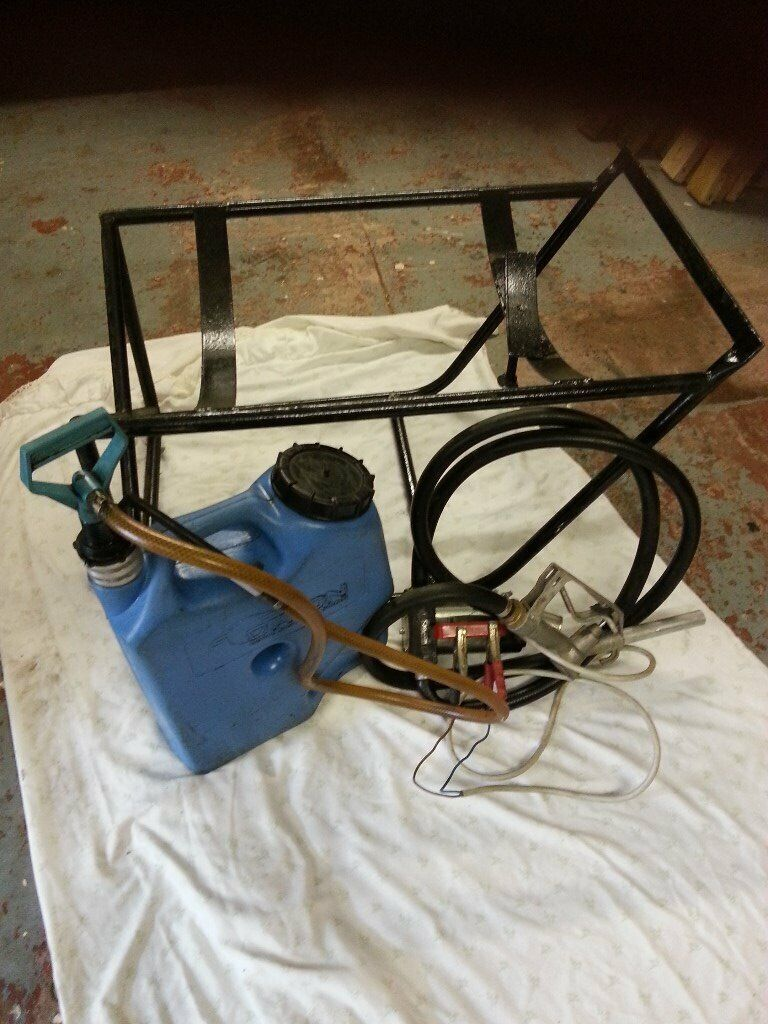 12v diesel transfer pump, barrel stand and gearbox oil filler and pump  |  in Perth, Perth and Kinross | Gumtree