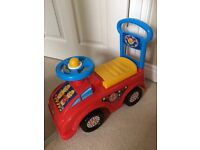 Toy Ride-on fire engine