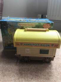Sylvanian Families hamburger wagon