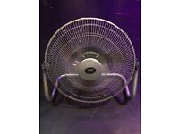 3 Floor Fans for Sale