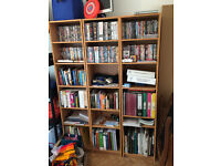 Bookshelves x3 (IKEA BILLY) 40x28x202 cm, oak veneer. £50 together (£20 separately)
