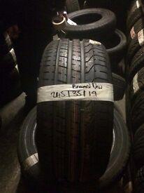 245/35/19 brand new pirelli tyres